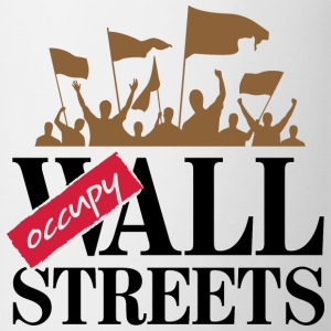 Occupy Wall Streets 3 (dd)++ T-Shirts - Mug