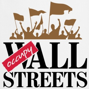 Occupy Wall Streets 3 (dd)++ Tee shirts - Tablier de cuisine