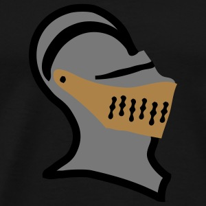 helmet medieval knight armour Teddies - Men's Premium T-Shirt