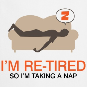 Retired Taking Nap 4 (dd)++ T-shirts - Förkläde
