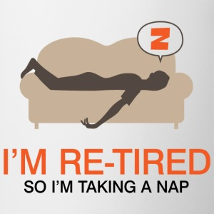 Retired Taking Nap 4 (dd)++ Sweatshirts - Kop/krus