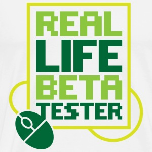 Real Life Beta Transfer 2 (dd)++ Sweat-shirts - T-shirt Premium Homme