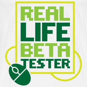 Real Life Beta Transfer 2 (dd)++ Sweaters - Mannen Premium T-shirt