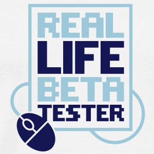 Real Life Beta Transfer 2 (2c)++ Sweaters - Mannen Premium T-shirt