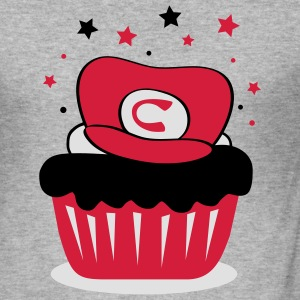 Supercupcake - Männer Slim Fit T-Shirt