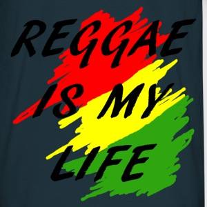 reggae is my life Sweaters - Mannen T-shirt