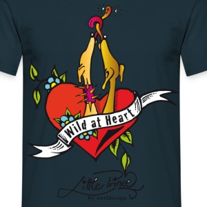 wild at heart Pullover - Männer T-Shirt