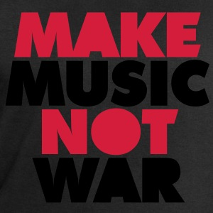 Make Music Not War T-Shirts - Men's Sweatshirt by Stanley & Stella