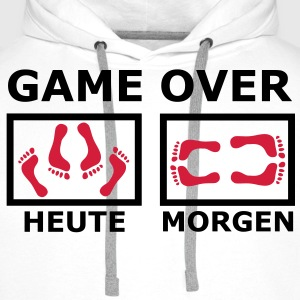 GAME OVER (2f) T-Shirts - Männer Premium Hoodie
