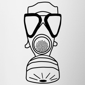 gas mask Hoodies & Sweatshirts - Mug