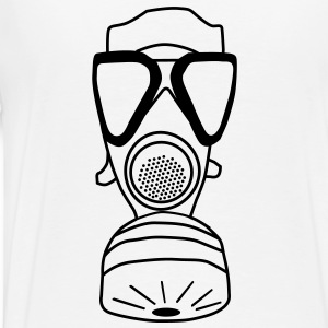 gas mask Hoodies & Sweatshirts - Men's Premium T-Shirt