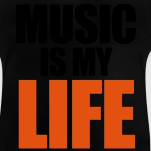 Music Is My Life Kinder T-Shirts - Baby T-Shirt