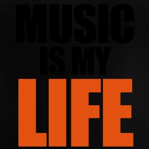 Music Is My Life Barnegensere - Baby-T-skjorte