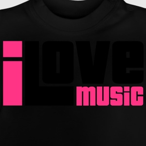 I Love Music Sweats Enfants - T-shirt Bébé