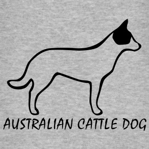 Australian Cattle Dog Pullover - Männer Slim Fit T-Shirt