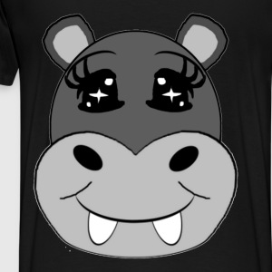 hippopotame Hoodies - Men's Premium T-Shirt