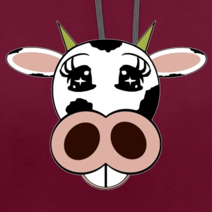vache Sacs - Sweat-shirt contraste