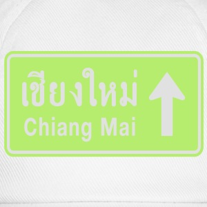 Chiang Mai, Thailand / Highway Road Traffic Sign - Baseball Cap