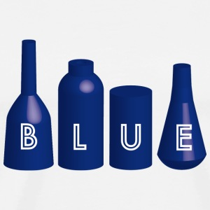 Blue Mugs  - Men's Premium T-Shirt