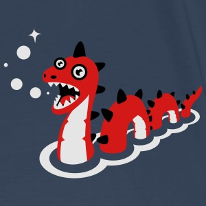 Magic Burp Seamonster - Retro Bag - Men's Premium T-Shirt