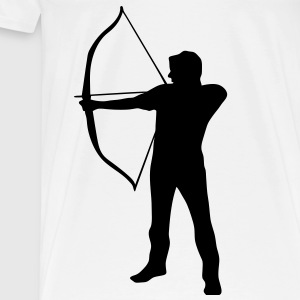 Archery apron - Men's Premium T-Shirt