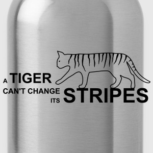 tiger stripes Pullover - Trinkflasche