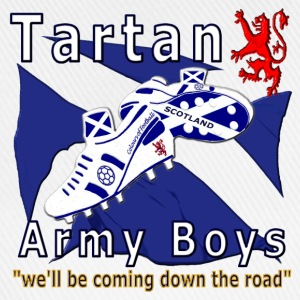 tartan army boys_coming  T-Shirts - Baseball Cap