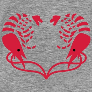 Heart of Shrimps - Men's Premium T-Shirt
