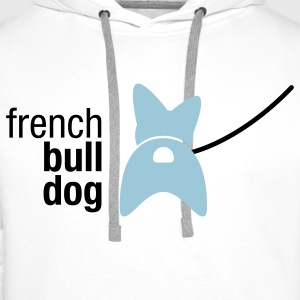 french bulldog T-Shirts - Men's Premium Hoodie