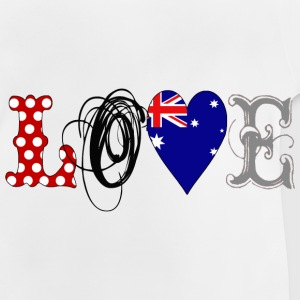 Love Australia Black - Baby T-Shirt