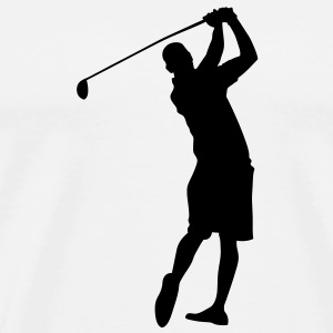Golf Mug - Men's Premium T-Shirt