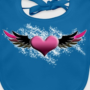saint valentin by customstyle Tee shirts Enfants - Bavoir bio Bébé