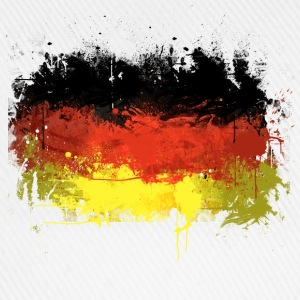 German Flag Graffiti - Men's - Baseball Cap