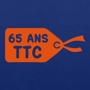65 ans etiquette prix ttc Sweat-shirts - Tote Bag