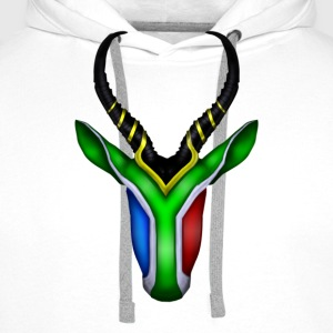 Springbok Flag - South Africa T-Shirts - Men's Premium Hoodie