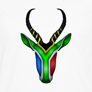 Springbok Flag - South Africa T-Shirts - Men's Premium Longsleeve Shirt