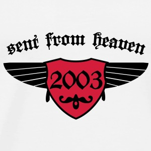 sent from heaven 2003 Tassen - Männer Premium T-Shirt