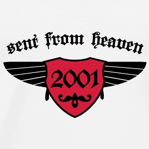 sent from heaven 2001 Tassen - Männer Premium T-Shirt