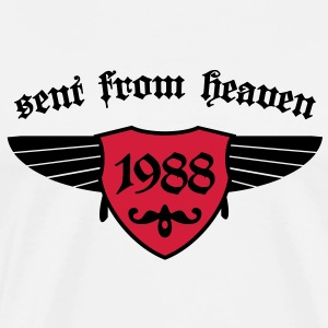 sent from heaven 1988 Pullover - Männer Premium T-Shirt