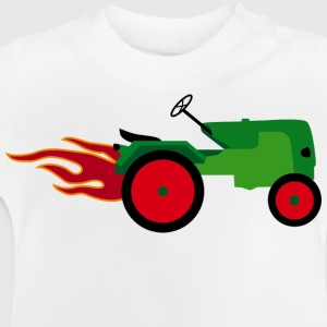Tractor Kids' Shirts - Baby T-Shirt