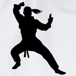 Karate T-shirt - Turnbeutel