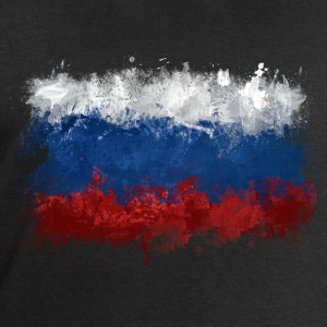 Russian Flag Graffiti - Men's Sweatshirt by Stanley & Stella