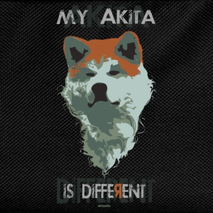 akita different color T-shirt - Zaino per bambini