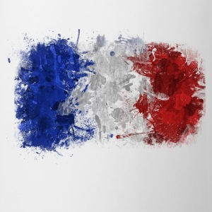 French Flag Graffiti - Mug