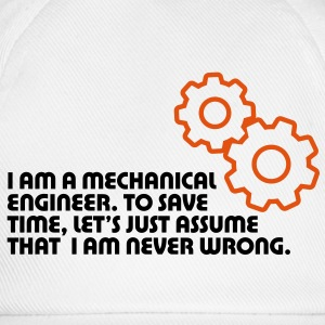 I Am A Mechanical Engineer 5 (2c)++ T-Shirts - Baseball Cap