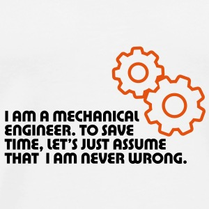 I Am A Mechanical Engineer 5 (2c)++ Sacs - T-shirt Premium Homme