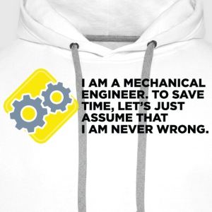 I Am A Mechanical Engineer 4 (dd)++ Camisetas - Sudadera con capucha premium para hombre