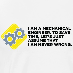 I Am A Mechanical Engineer 4 (dd)++ Sweat-shirts - T-shirt Premium Homme