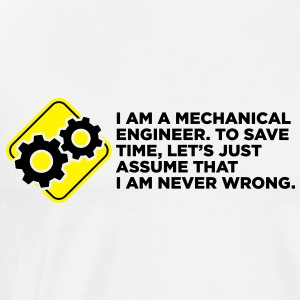 I Am A Mechanical Engineer 4 (2c)++ Sweaters - Mannen Premium T-shirt