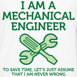 I Am A Mechanical Engineer 2 (dd)++ T-shirts - Herre premium T-shirt med lange ærmer
